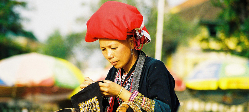 Red Dao Woman in Sapa