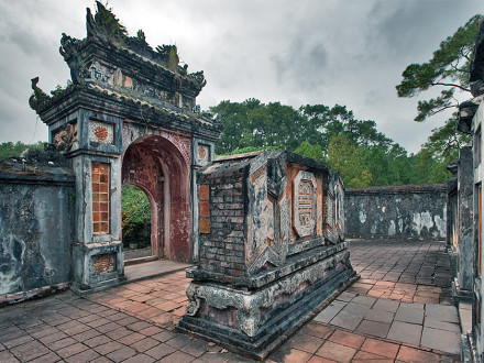 Tu Duc Royal Tomb in Hue