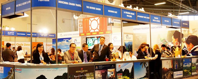 Indochina Charm Travel at ITB Berlin 2015