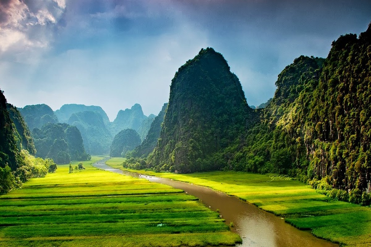"Ninh Binh in the movie ""King Kong 2"""