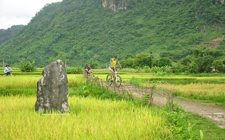 Cycling at Pu Luong Nature Reserve Vietnam