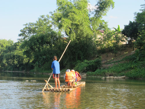 Rafting at Pu Luong Nature Reserve Vietnam