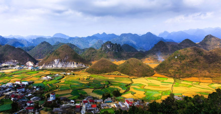 Ha Giang in Vietnam