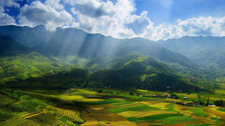 The Landscapes of Sapa Vietnam