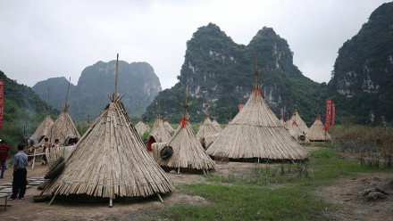 """Kong: Skull Island"" Film Set in Ninh Binh"