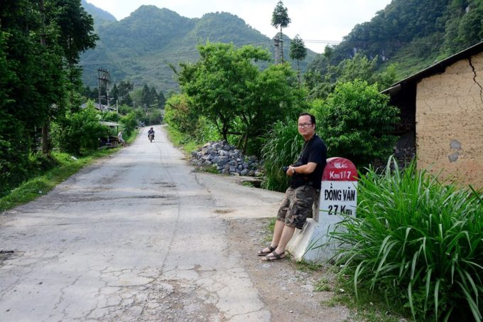 Yang - our tour guide in Vietnam