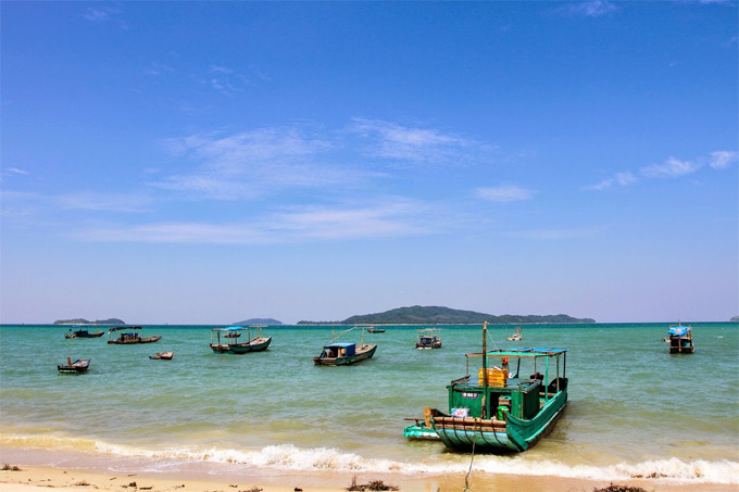 Co To Island in Quang Ninh