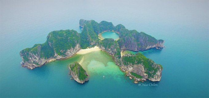 Mat Rong Island in Quang Ninh - source: internet