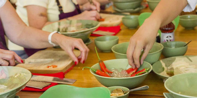 Cooking Classes in Saigon - Good experience for Vietnam MICE tours.