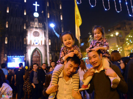 Enjoy Christmas Eve at one of Top Churches in Vietnam