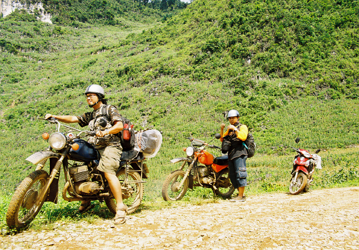 Travel to the North of Vietnam by motobike