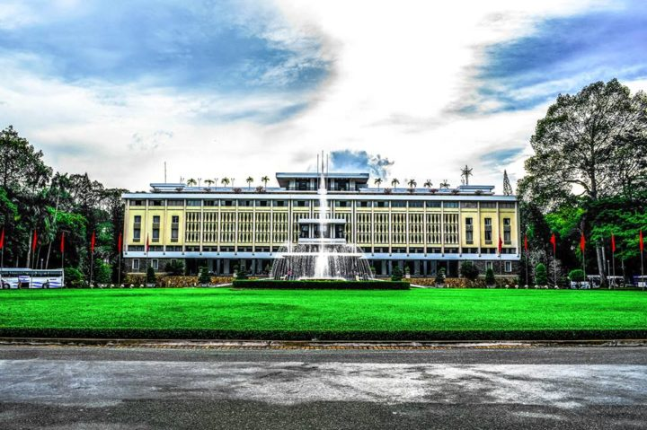 The Reunification Palace in HCM City