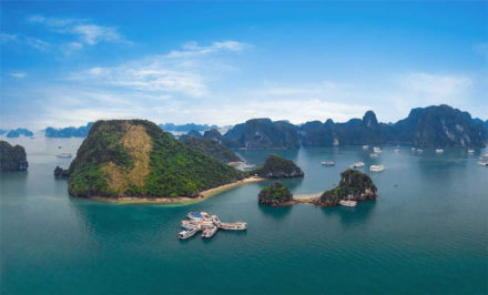 Halong Bay is the must-seen destination on all tours to Vietnam