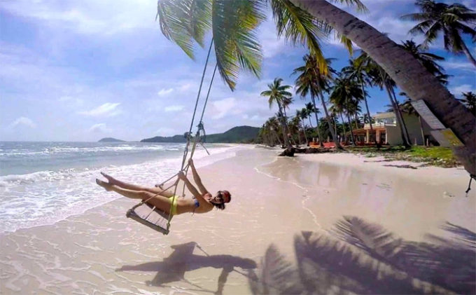 Beach Vacation at Phu Quoc Island, Vietnam