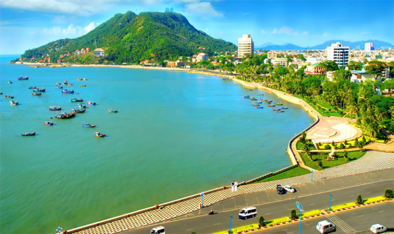Vung Tau Beach City in Vietnam
