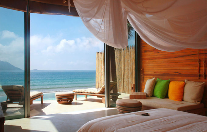 Con Dao Island is one of ideal for honeymoon tour (Six Senses Resort Con Dao)