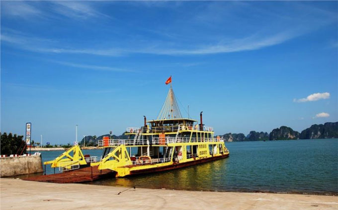 Transfer to Cat Ba from Tuan Chau (Halong) by ferry
