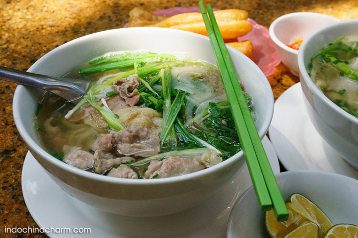 Hanoi Pho (noodle with beef or chicken)