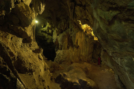 Pac Bo Cave in Cao Bang Vietnam