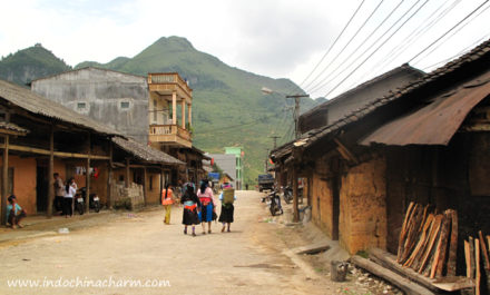 Pho Bang Town in Ha Giang Vietnam