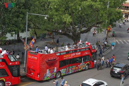 Double Decker Bus Hanoi