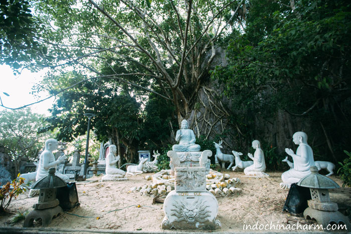 Buddha Garden on Marble Mountains Da Nang