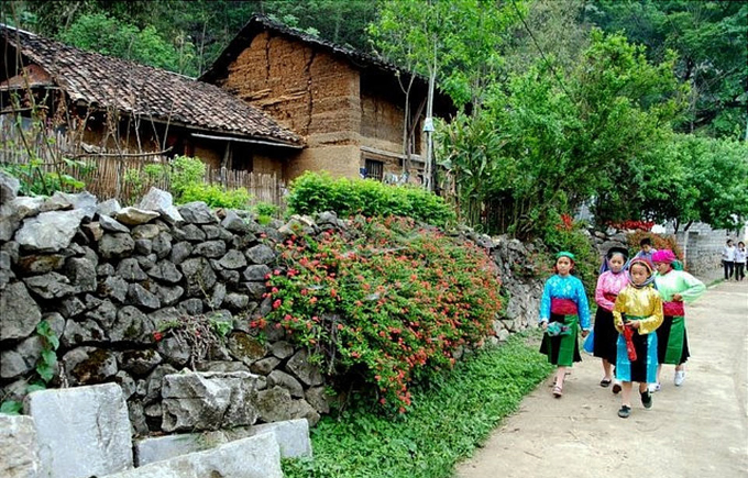 The 100-year-old Thien Huong village in Dong Van Ha Giang Vietnam
