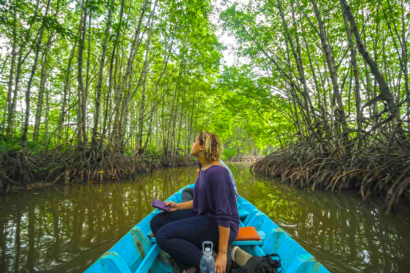 Boat trip to explore Can Gio Mangrove Biosphere Reserve
