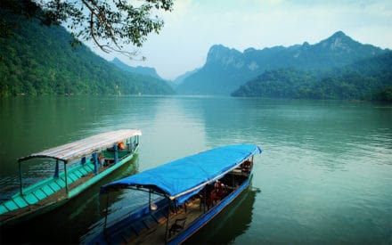 Ba Be National Park in Bac Kan Vietnam