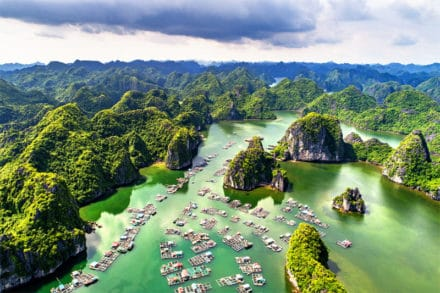Cat Ba National Park in Hai Phong Vietnam