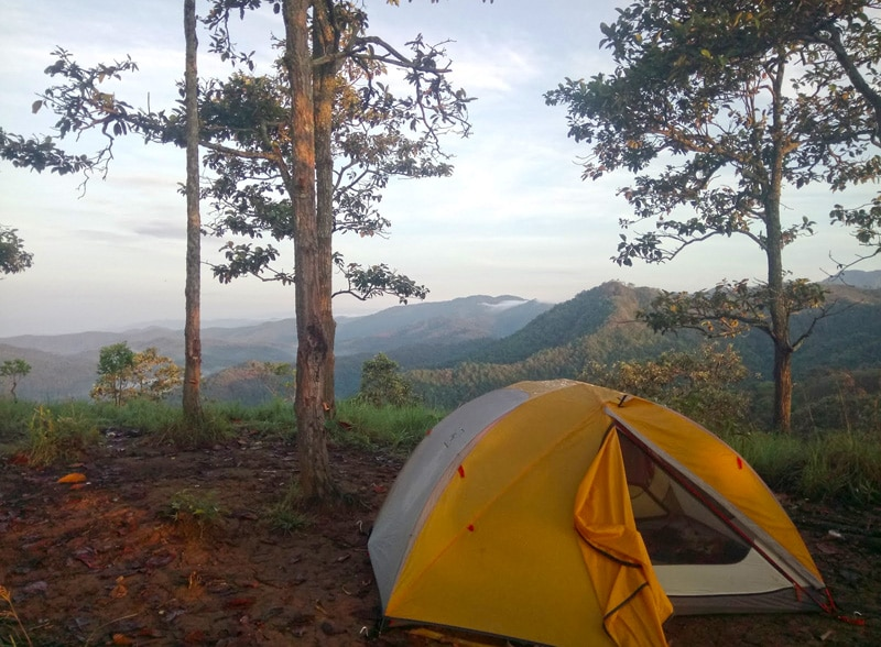 Camping at Kalon Song Mao Nature Reserve