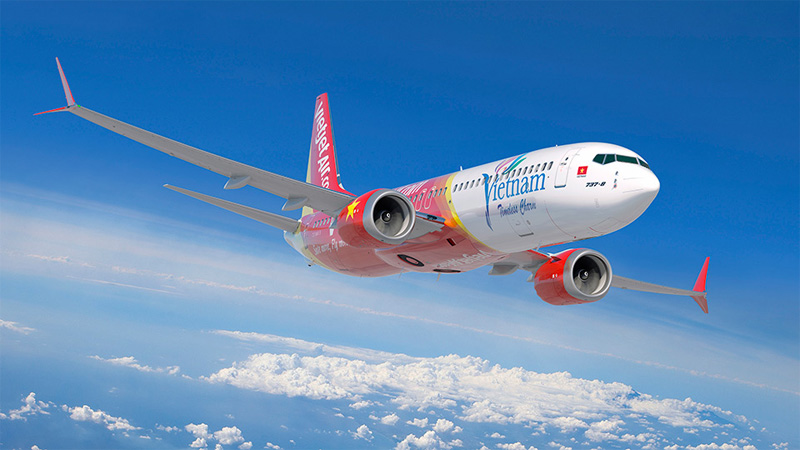Direct Flights to Vietnam from India by VietJet Air