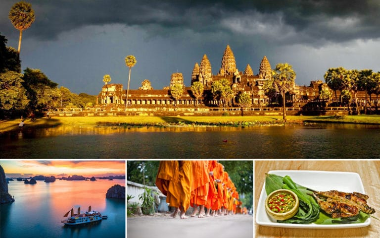 Vietnam Cambodia Laos Itinerary: Things to do in Indochina Tour 10 Days