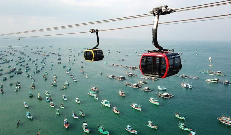 Ride Halong Queen Cable Car