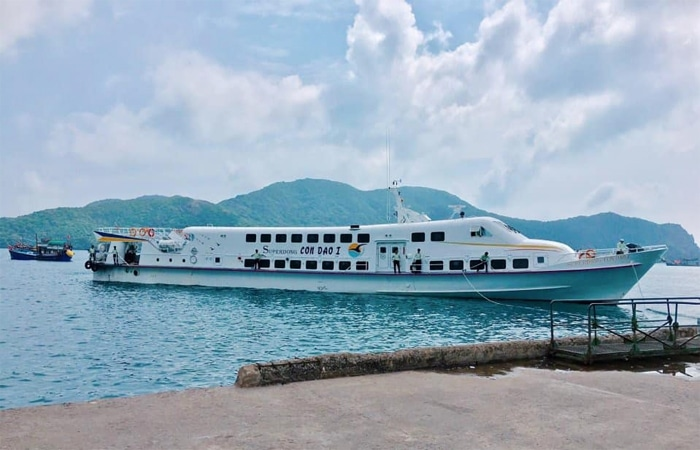 Travel to Con Dao Island by Superdong Fast Ferry from Soc Trang