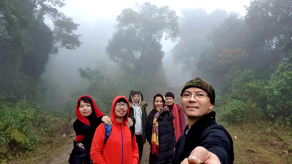 Indochina Charm Travel Team on an inspection trip in Jan 2021